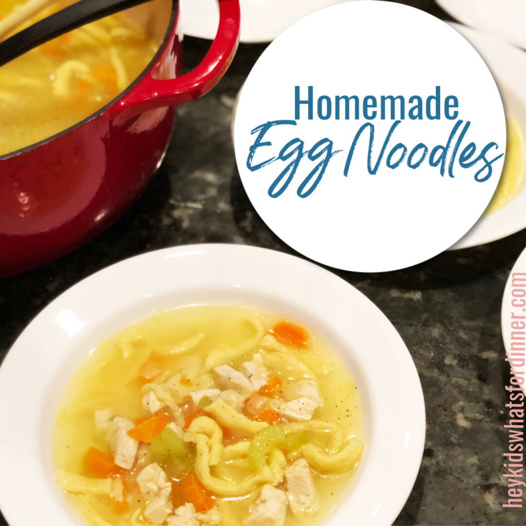Homemade Egg Noodles