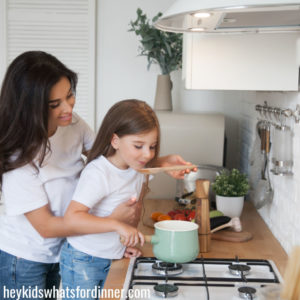 How to make time to cook with your kids