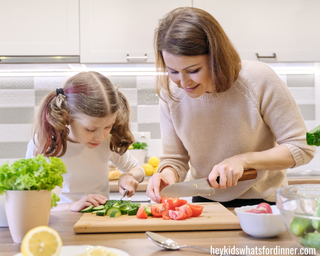 It's so important to make time to cook with your kids