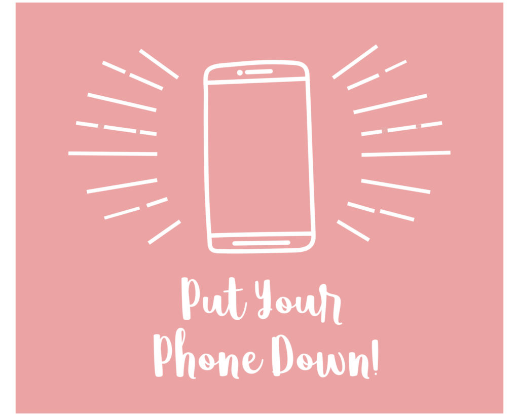 Put Your Phone Down Graphic